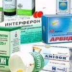 противовирусные и антибиотики