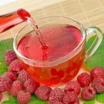 малиновый чай