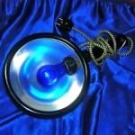 синяя лампа при гайморите