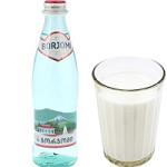 «Боржоми» от кашля с молоком