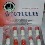 Лечение синусита антибиотиками