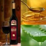 Алоэ, вино и мед