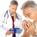 простуда и врач