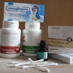 Медикаментозное лечение простуды