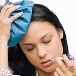 Если лоб болит при гриппе