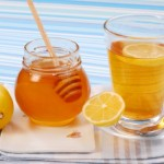 сочетание меда и лимона.
