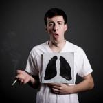 Курильщики страдают от хронического бронхита