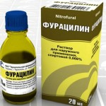 фурацилиновый раствор